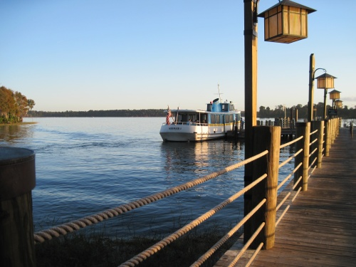 Wilderness Lodge Boat Dock