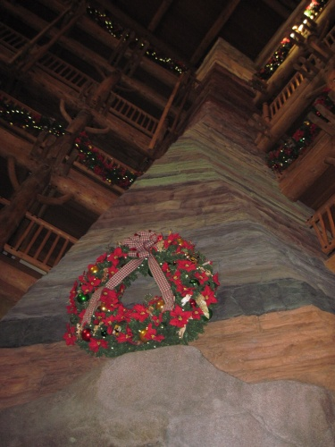 Wilderness Lodge Chimney