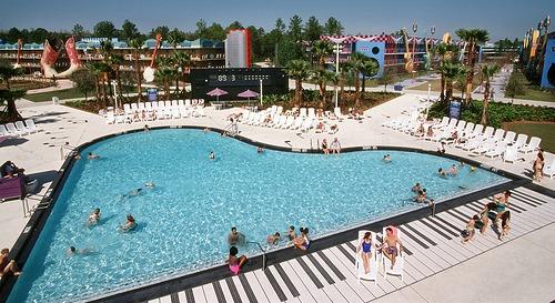 All Star Music Resort Pool by Best of WDW