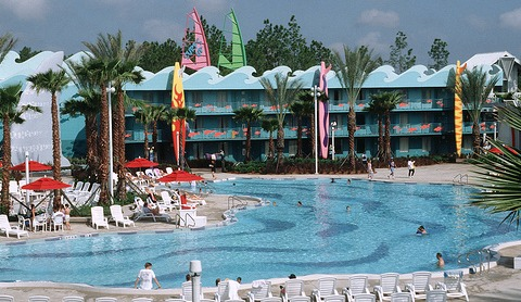 All Star Sports Pool by Best of WDW