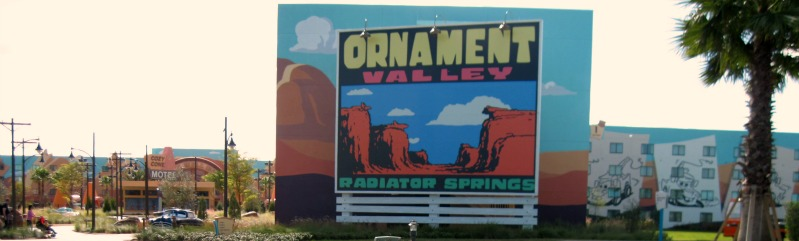Art of Animation Radiator Springs