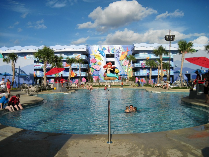Little Mermaid Flippin' Fins Pool