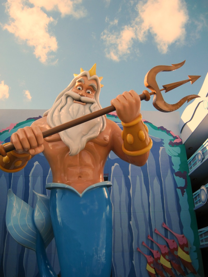 Art of Animation King Triton