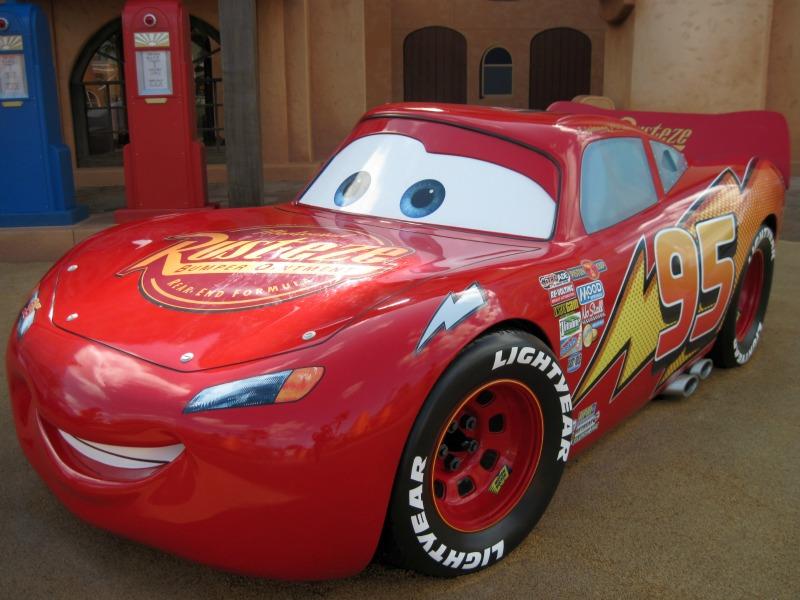 Art of Animation Lightning McQueen