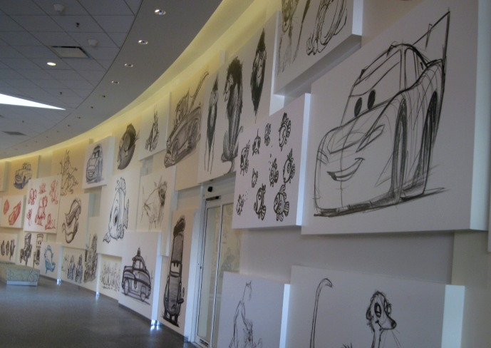 Disney Art of Animation Resort Sketches