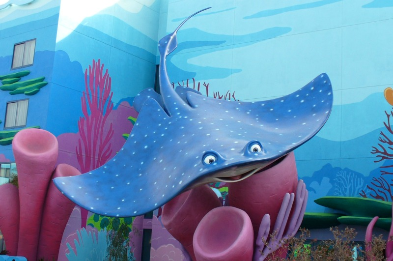 Finding Nemo Mr. Ray
