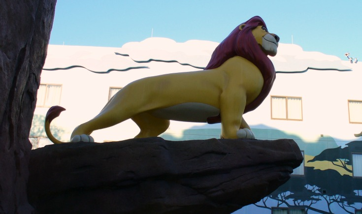 Art of Animation Majestic King Simba
