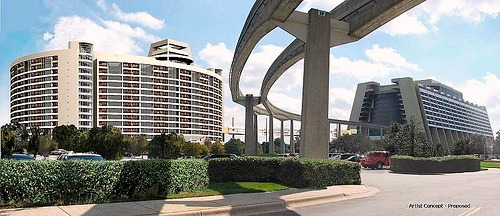 Bay Lake Tower & Disney Contemporary Resort by Darren Witko