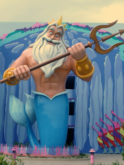 Art of Animation Resort King Triton