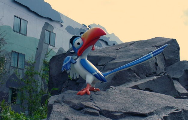 Art of Animation Lion King Zazu