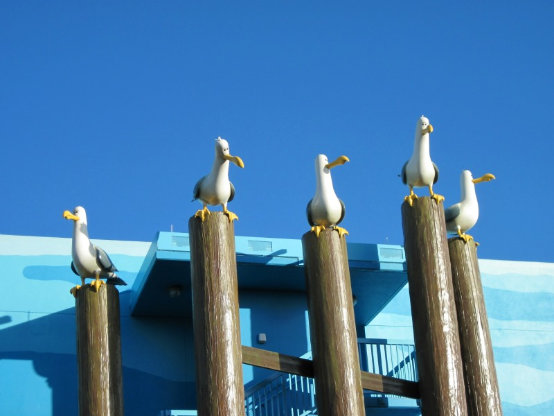 Art of Animation Resort Seagulls
