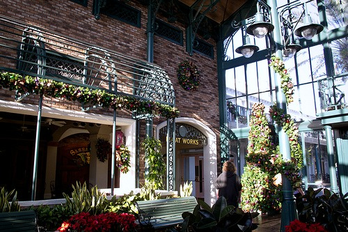 Port Orleans Lobby by HarshLight