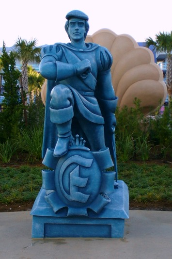 Art of Animation Prince Eric Statue