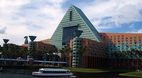 Disney Dolphin Hotel by Darren Wittko
