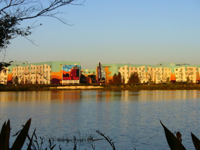 View of Art of Animation Resort from Pop Century
