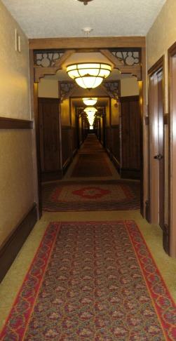 Hallway of Wilderness Lodge Villas