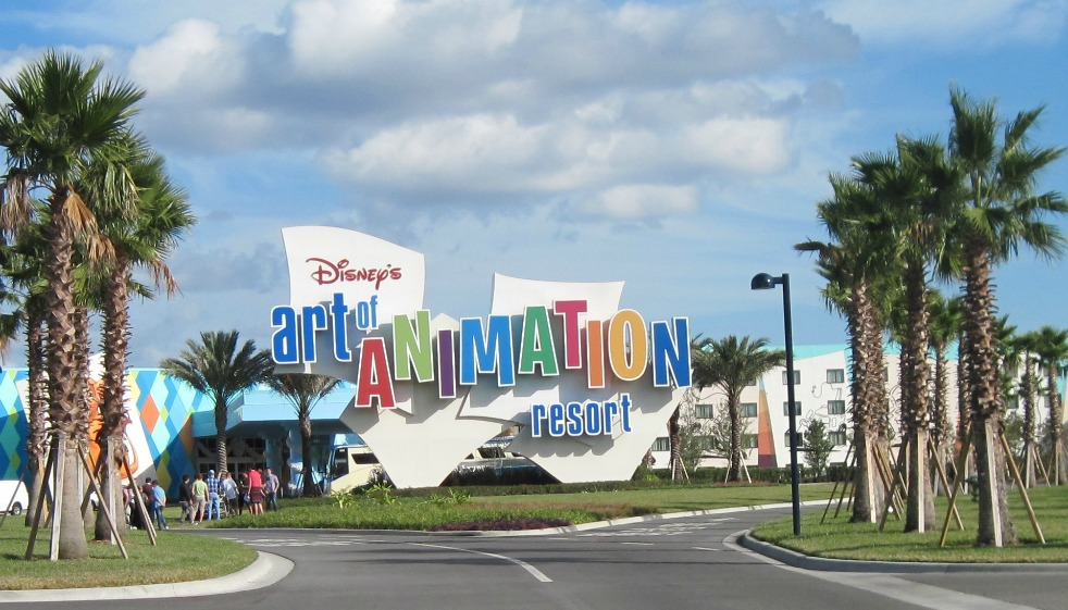 Walt Disney World Art of Animation Hotel