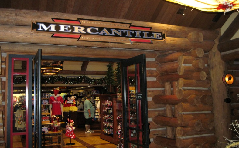 Wilderness Lodge Merchantile