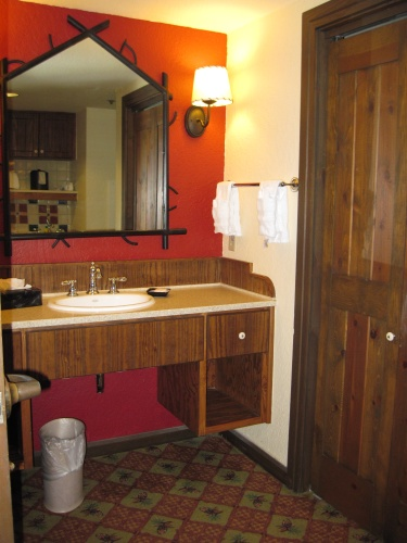 Wilderness Lodge Vanity Area