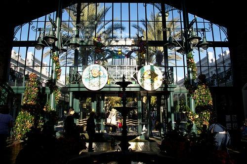 Port Orleans Lobby by Harsh Light