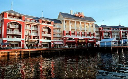 Disney Boardwalk Inn by Darren Witko