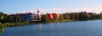 View of Disney Pop Century Resort