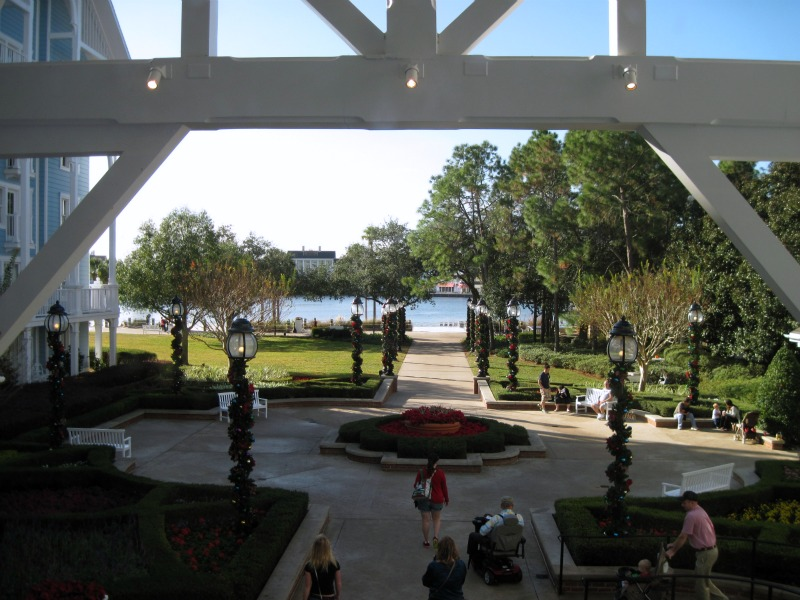 View from the Disney Beach Club