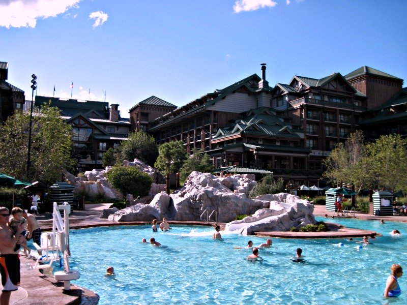 Disney Wilderness Lodge Pool